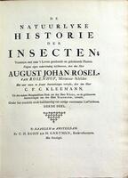 De natuurlyke historie der insecten : voorzien met naar 't leven getekende en gekoleurde plaaten