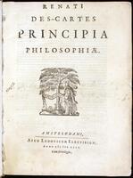 (Renati Des-Cartes) Principia philosophiae.